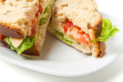 Vegetarian Sandwich Royalty Free Stock Images