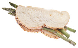Vegetarian Sandwich Concept Stock Image
