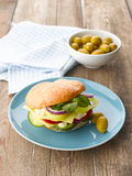 Vegetarian Sandwich Royalty Free Stock Photography