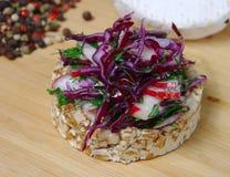 Vegetarian sandwich Stock Photography