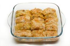 Vegetarian sarmi Stock Images