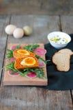 Vegetarian Scotch eggs Stock Images