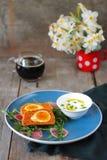 Vegetarian Scotch eggs Stock Photography