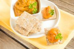 Vegetarian snack Royalty Free Stock Photos