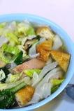 Vegetarian Soup Noodles Royalty Free Stock Photos