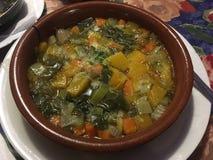Vegetarian soup Royalty Free Stock Image