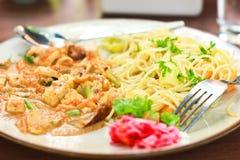 Free Vegetarian Spaghetti Stock Images - 26500594