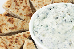 Vegetarian Spinach Dip Stock Image