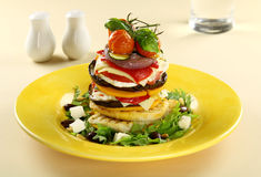 Vegetarian Stack Stock Photography