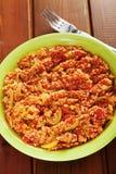 Vegetarian stew Royalty Free Stock Image