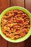Vegetarian stew Stock Image