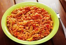 Vegetarian stew Stock Images