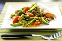 Vegetarian stew Royalty Free Stock Photo
