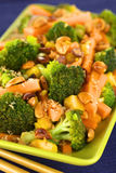Vegetarian Stir-Fry Thai-Style Royalty Free Stock Images