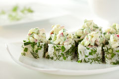 Vegetarian Sushi Stock Image