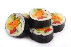 Vegetarian sushi Royalty Free Stock Image