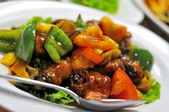 Vegetarian Sweet And Sour Pork Cuisine Royalty Free Stock Image
