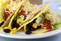 Vegetarian Tacos Stock Photography