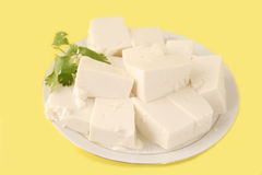 Vegetarian tofu Royalty Free Stock Images