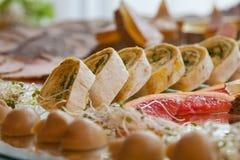 Vegetarian tortilla Royalty Free Stock Images