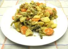 Vegetarian vegetable casserole Stock Photo