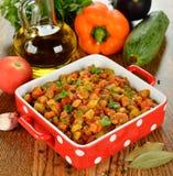 Vegetarian vegetable stew Stock Photo