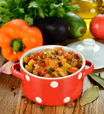 Vegetarian vegetable stew Stock Photos