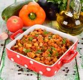 Vegetarian vegetable stew Royalty Free Stock Photo