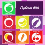Vegetarian week Royalty Free Stock Image