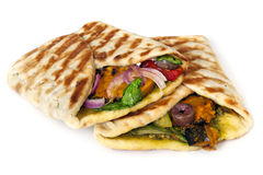Vegetarian Wrap royalty free stock photography