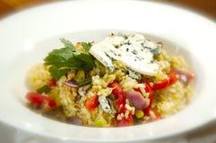 Vegetariana italiano del risotto Immagini Stock