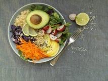 Vegetarianbuddha bunke Arkivfoto