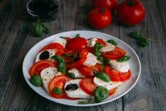 Vegetariano caprese Imagem de Stock Royalty Free