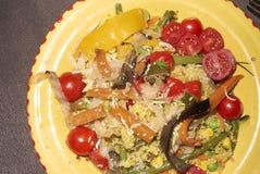Vegetariano Cous Cous imagem de stock royalty free