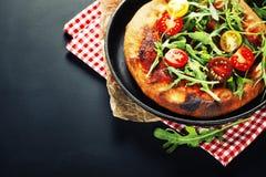 Vegetariano da pizza imagens de stock
