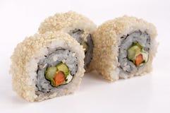 Vegetariano del sushi Imágenes de archivo libres de regalías