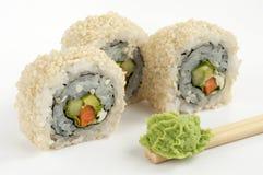 Vegetariano del sushi Fotografía de archivo