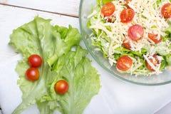 Vegetariano dell'insalata di Caesar fotografie stock