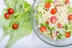 Vegetariano dell'insalata di Caesar fotografia stock libera da diritti
