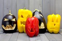 Vegetariano Dia das Bruxas Imagens de Stock