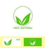 Vegetariano do eco do produto natural bio ilustração royalty free