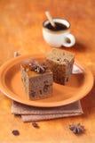 Vegetariano Honey Coffee Cake immagine stock
