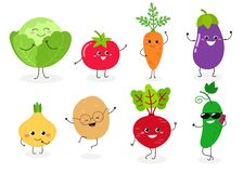Vegetariano N1 ajustado ilustração do vetor