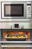 Vegetarianos do cozimento no forno Imagens de Stock Royalty Free