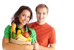 Vegetarians Royalty Free Stock Images