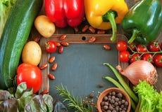 Vegetarien menu Stock Photos