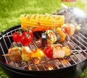Vegetarier bbq Lizenzfreies Stockbild