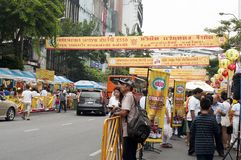 Vegetarier Festival03 Stockbild