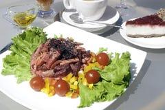 Vegetarier sortiertes geschmackvolles Lebensmittel XXL Stockbild