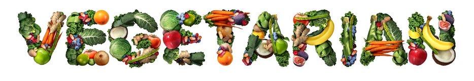 vegetariër Royalty-vrije Stock Afbeelding